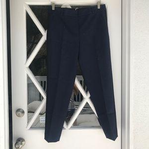 Navy Kate Spade Trouser